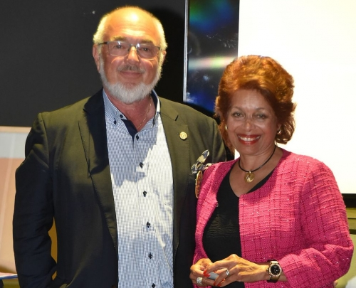 DG Hansruedi Moser et Bea Moser