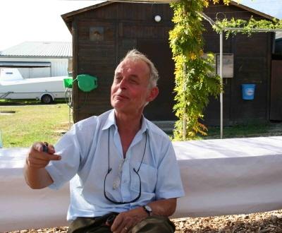 En hommage à notre pilote disparu Jacques de Preux